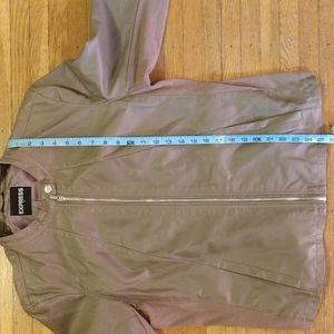 Express Jackets & Coats - Express Faux Leather Jacket